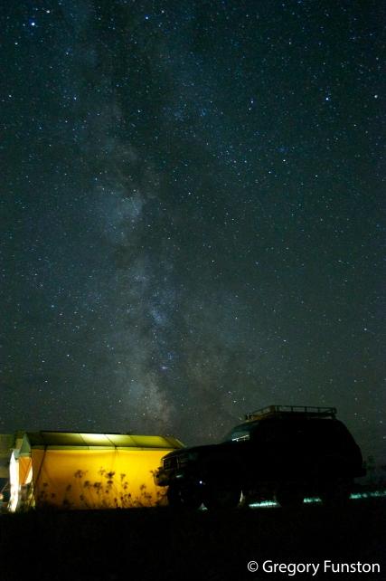 Stars over camp