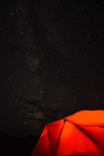 The Milky Way over my tent