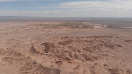 The main exposures of Guriliin Tsav, looking southwest